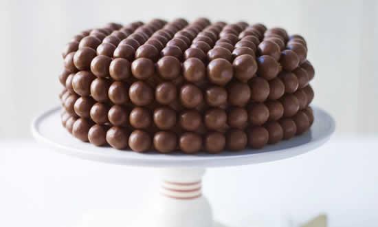 Lindo bolo de chocolate