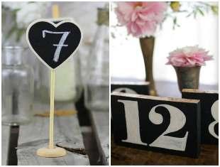 Como fazer marcador de mesa para casamento