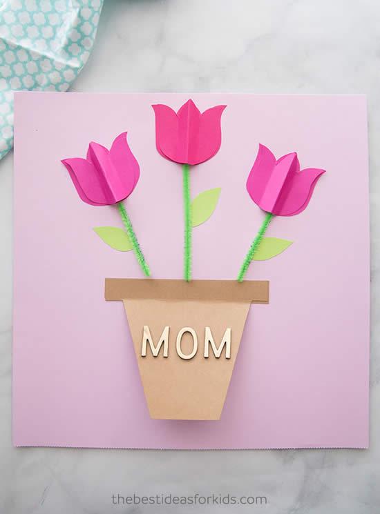Cartão lindo com rosas