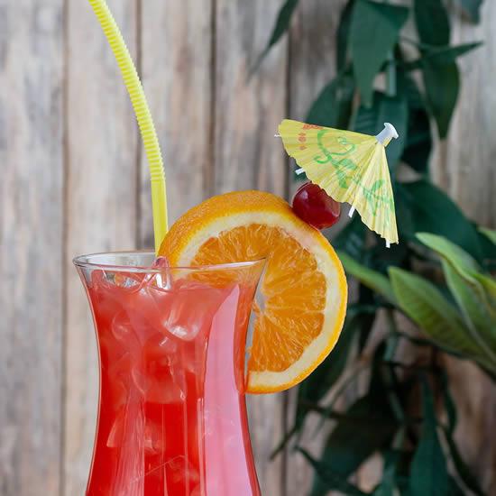 Como fazer sombrinha para drinks