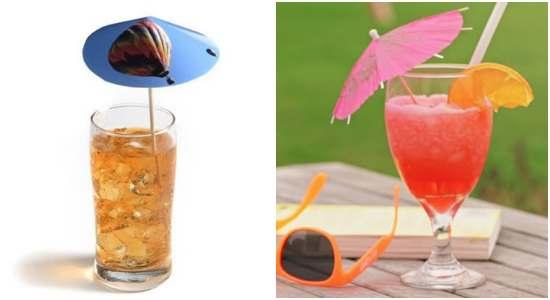 Como fazer guarda chuva para drinks