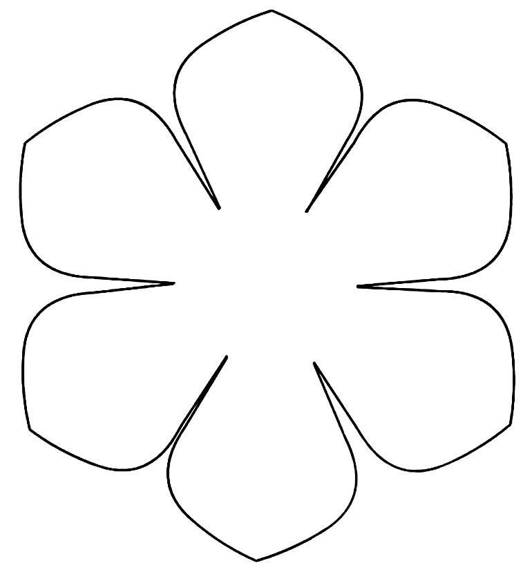 Molde para flor de tule