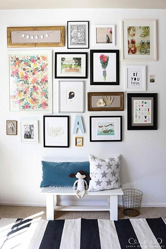 Decoração para casa com quadros