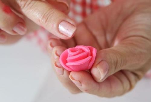 Rosa para Cupcake Passo a Passo
