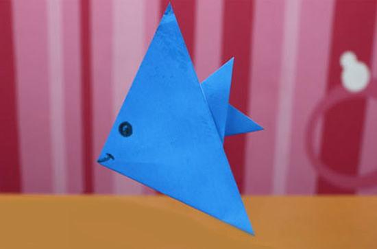 Como fazer peixe de origami