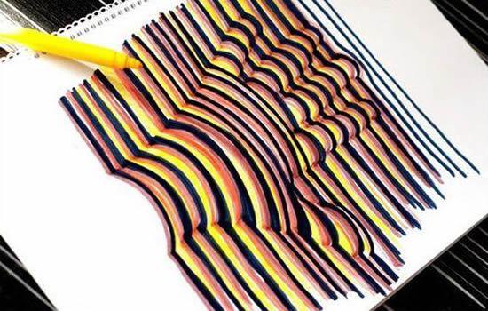 Como fazer um desenho 3D