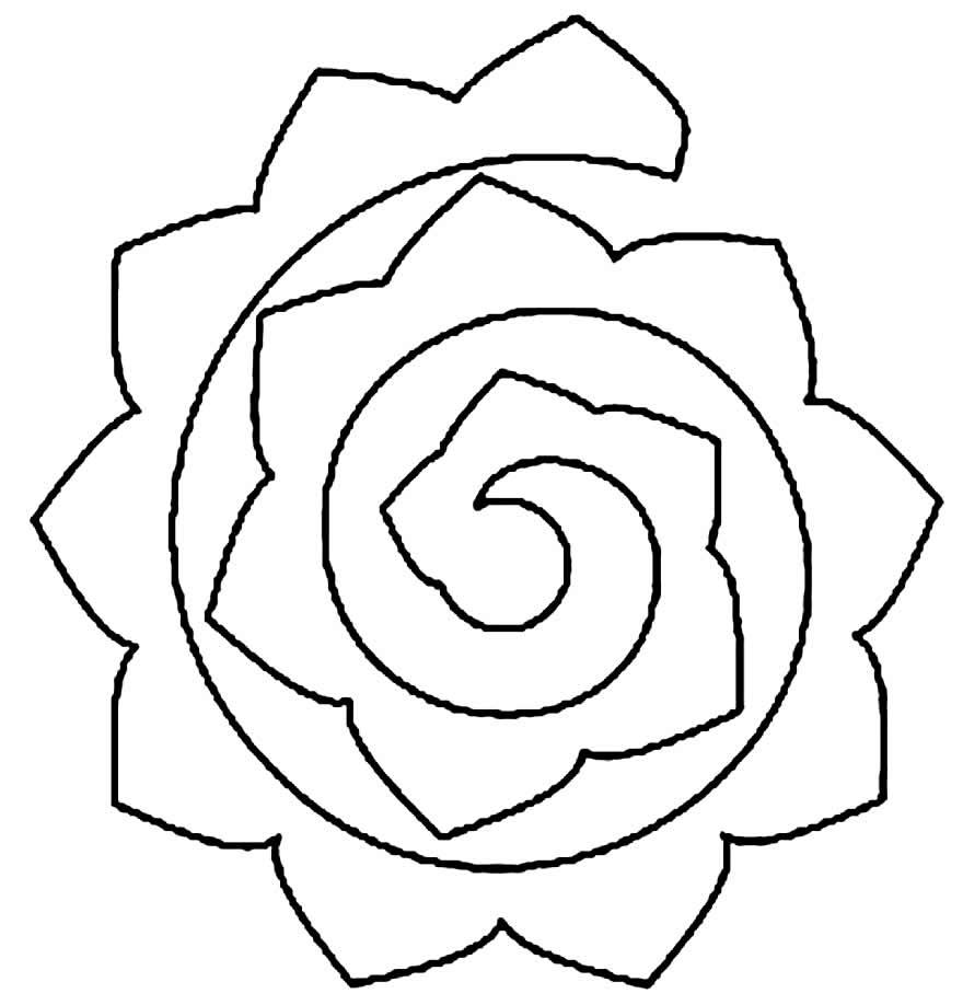 Molde para flores