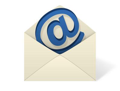Tutoriais no e-mail