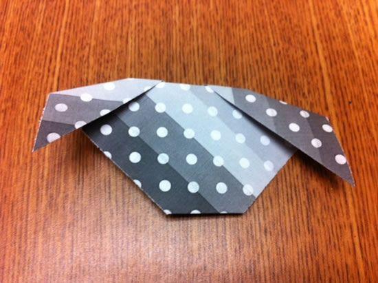 Cachorrinho de origami