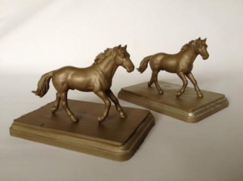 Cavalos de brinquedo para decoração