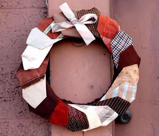 Passo a passo de guirlanda de tecido para decoração da casa