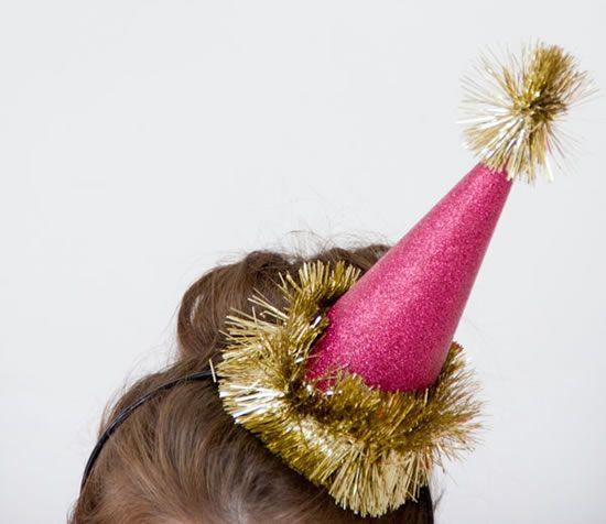 Chapeuzinho para festas de fim de ano