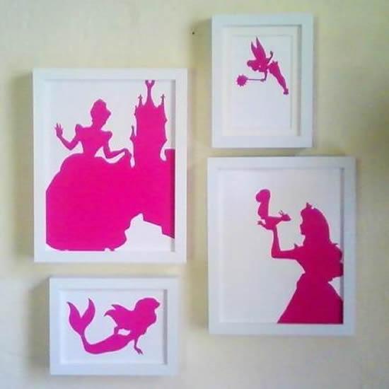Papel colorido para decorar a casa