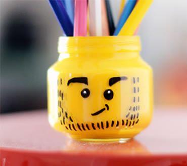 Como fazer um porta-lápis colorido