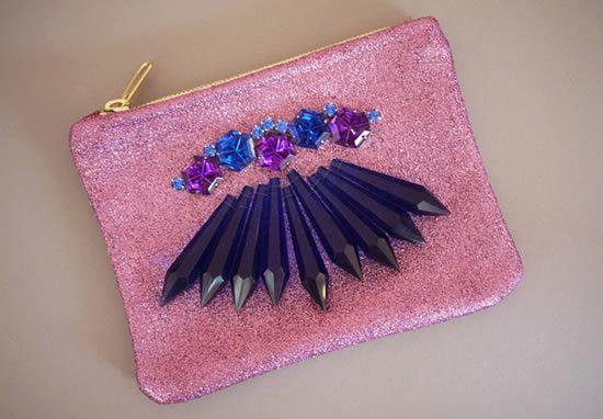 Como fazer uma bolsa decorada