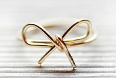 Como fazer anel de lacinho