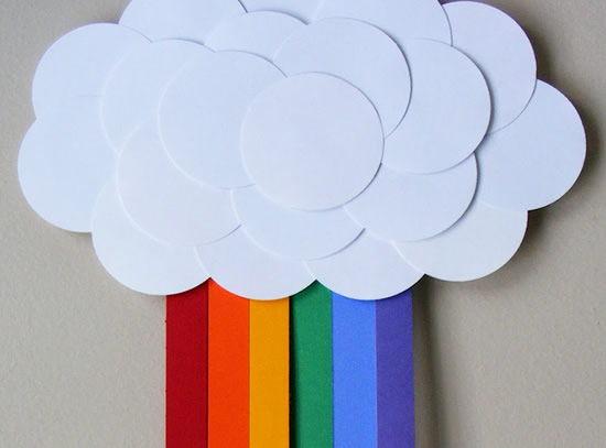 Como fazer arco-íris