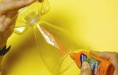 Como fazer uma taça de plástico com garrafa PET