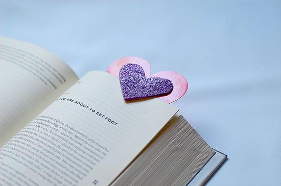 Marcador de livros artesanal passo a passo