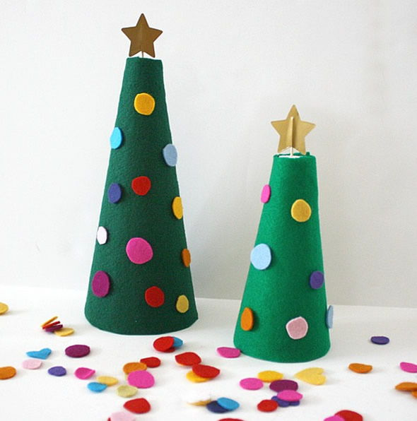 Árvore de Natal passo a passo