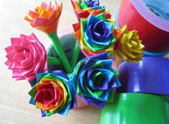 Flores coloridas para lembrancinhas passo a passo