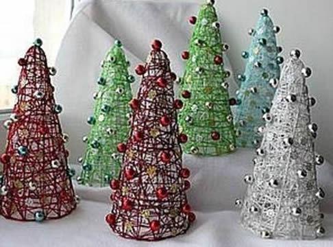 Mini árvore de Natal passo a passo