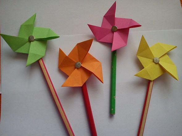 Artesanato com papel para crianças passo a passo
