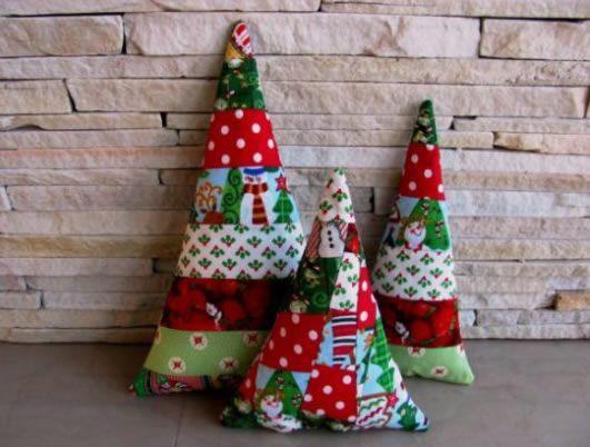 Almofada de Natal passo a passo