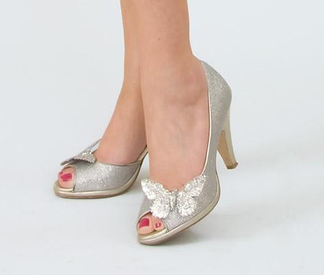 Decoração de sapatos femininos