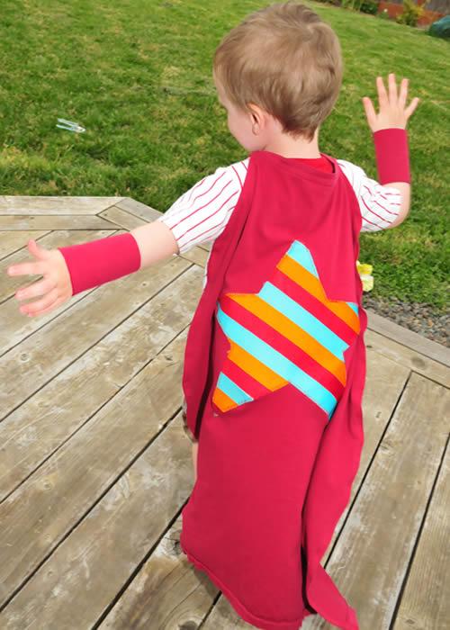 Como fazer fantasia de super-herói