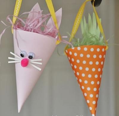 Enfeite para decoração de Páscoa