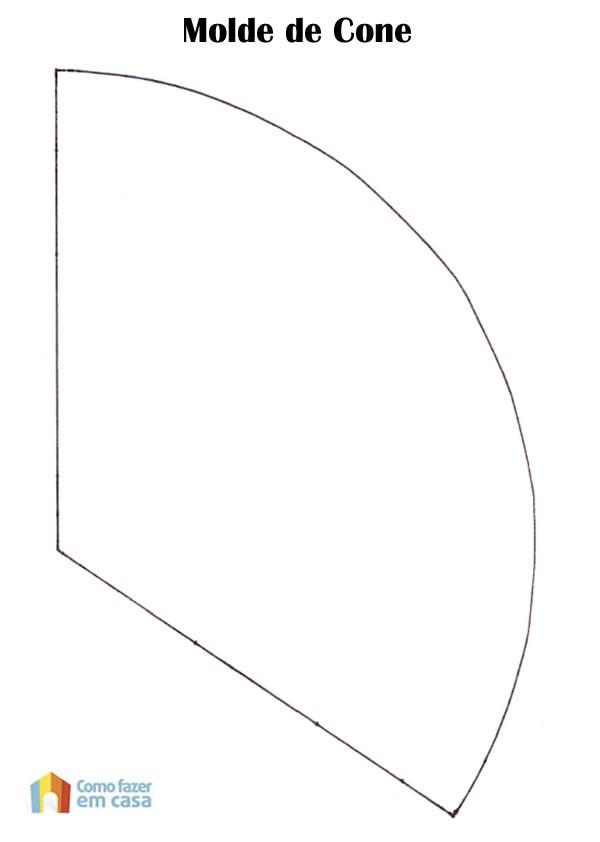 Molde de Cone para Artesanato