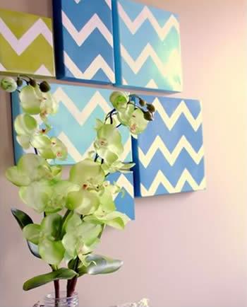 Como fazer quadros decorativos para a casa
