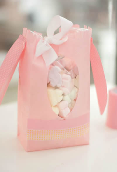 Como fazer sacolinha de festa de Páscoa