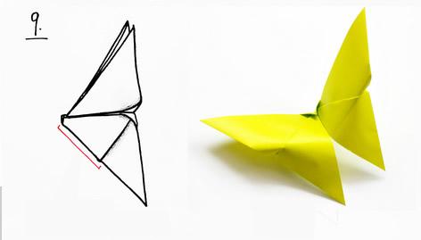 Borboletas de papel para decoração passo a passo