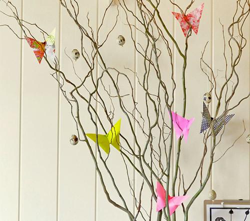 Borboleta de papel para decoraçãoa