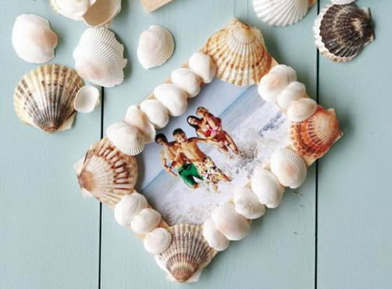 Artesanato Indiano Como Fazer ~ Como fazer artesanato com casca de mariscos