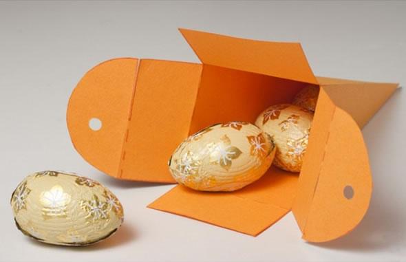 Molde de lembrancinha de cenoura para a Páscoa