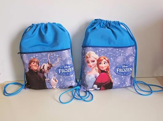 Ideia de decoração para festa Frozen