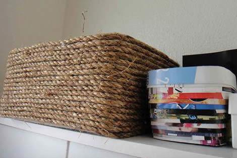Ideias para reciclar caixa de sapato