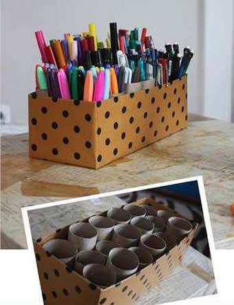 10 Ideias De Como Reciclar Caixas De Sapato