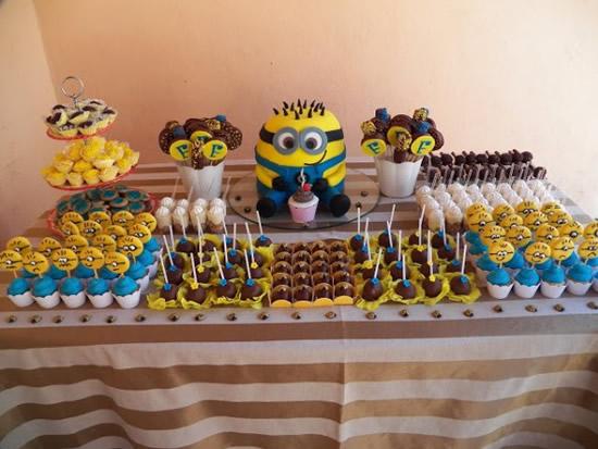 Decoração para festa dos Minions