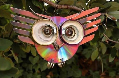 Como fazer artesanato com CDs velhos