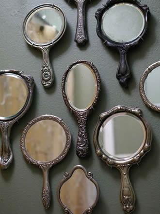 Decoração com espelhos para a casa