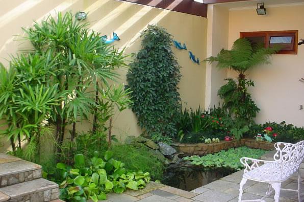 10 ideias para decorar o jardim de forma barata com criatividade  Como fazer -> Como Decorar Banheiro De Forma Barata