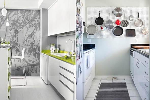 Como decorar uma cozinha pequena for Jardines pequenos originales