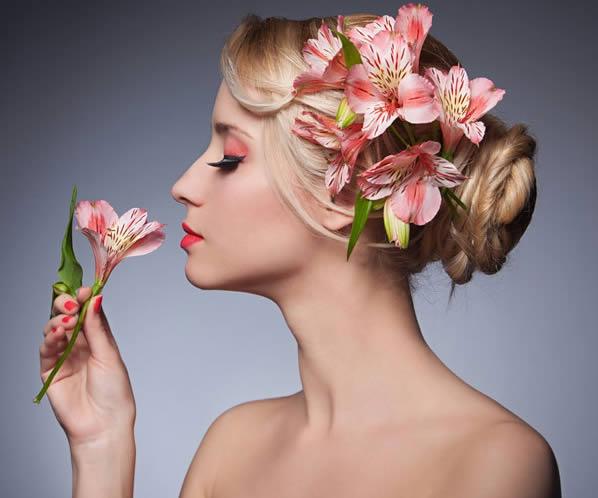 Como perfumar os cabelos