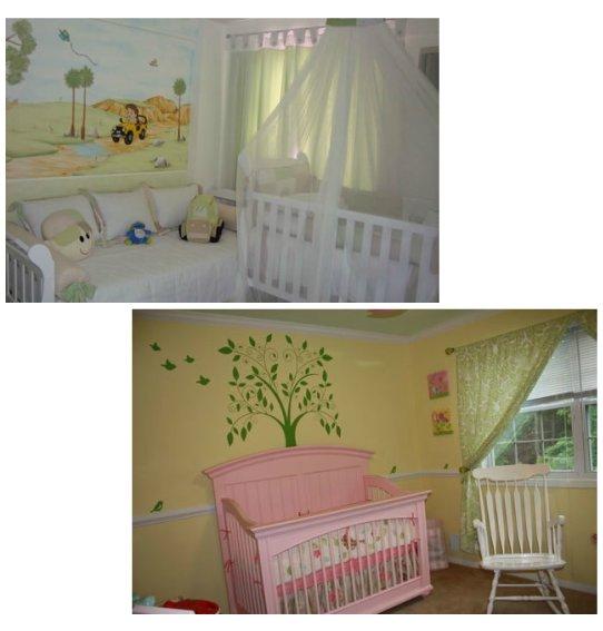 Decoração para o quarto do bebê - Campestre