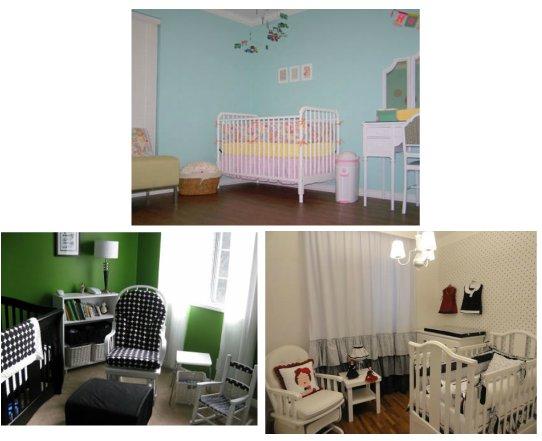 Decoração para o quarto do bebê - Retrô