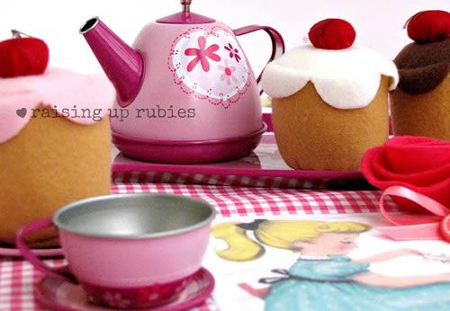 Como fazer um jogo de chá para crianças